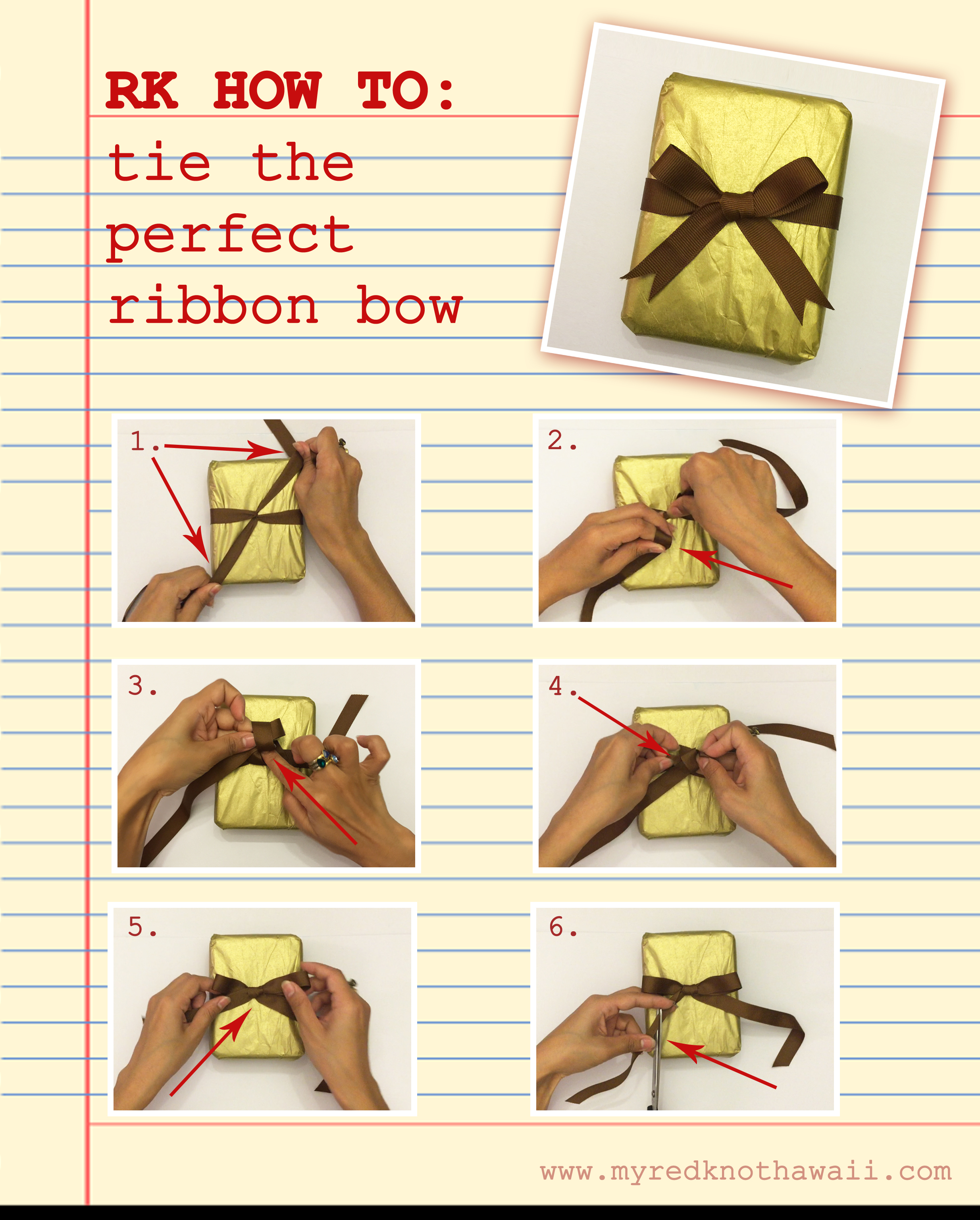 How to tie the perfect knot